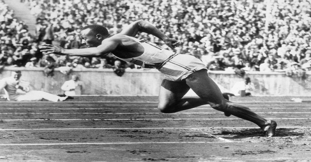 Adidas'ın Berlin Olimpiyatlarında Sponsor Olduğu Jesse Owens